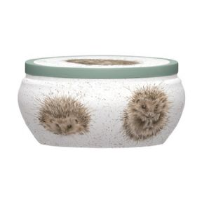 Royal Worcester Wrendale Hedgehog Awakening Boutique Candle Tin